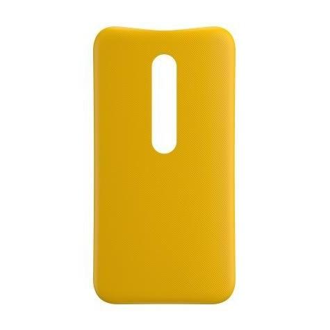 meet 975c3 27a7e Back Case for Motorola Moto G Turbo - Yellow