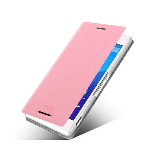 new styles b88f0 9b1b4 Flip Cover for Sony Xperia M4 Aqua Dual 8GB - Pink