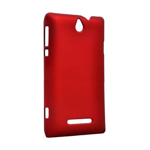 sports shoes afb68 344b9 Back Case for Sony Ericsson Xperia E Dual C1605 - Red