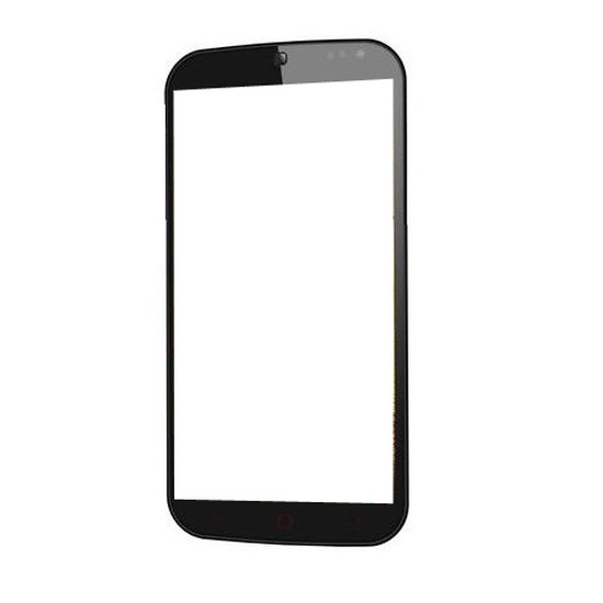 Touch Screen Digitizer for DOMO nTice Quad 1 - Ghost - Black