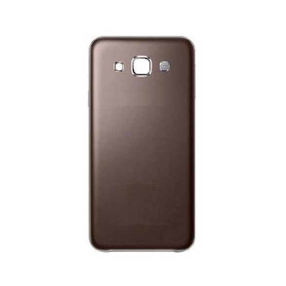 sports shoes 9551e 215cb Back Panel Cover for Samsung Galaxy E5 - Brown