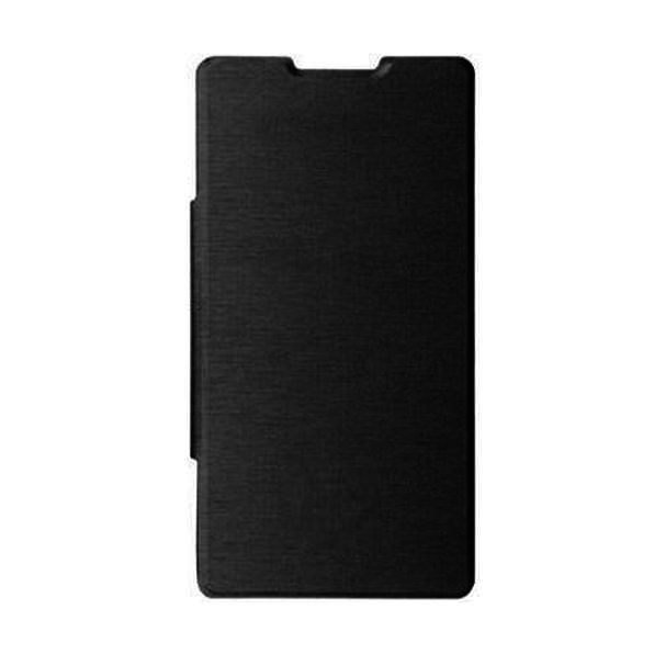official photos 4b8f4 6b749 Flip Cover for Oppo A83 - Black