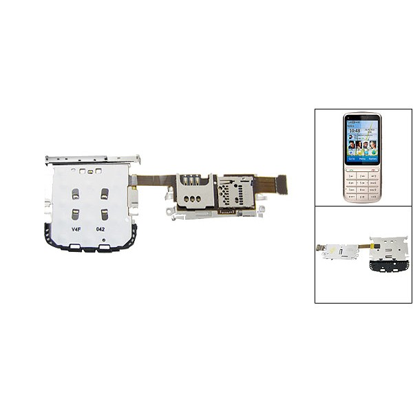 Mobile Phone Flex Cable : Flex cable for nokia c cell phone maxbhi