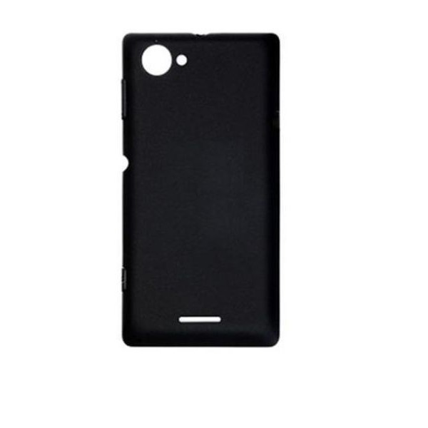 save off a8fee 901fa Back Panel Cover for Sony Xperia L - Black