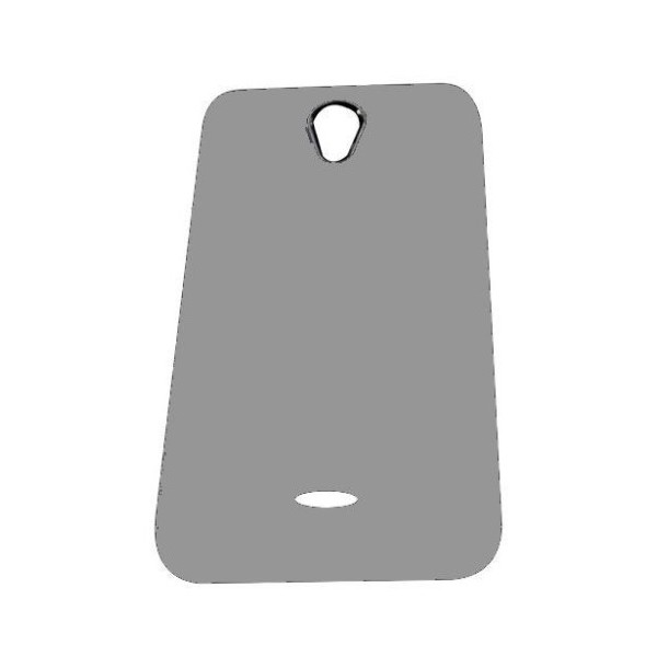 brand new 85cf9 2f18b Back Panel Cover for Micromax A106 Unite 2 - Grey