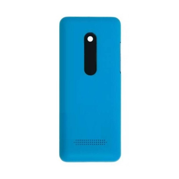 newest 5aa09 b4df5 Back Panel Cover for Nokia 206 - Cyan