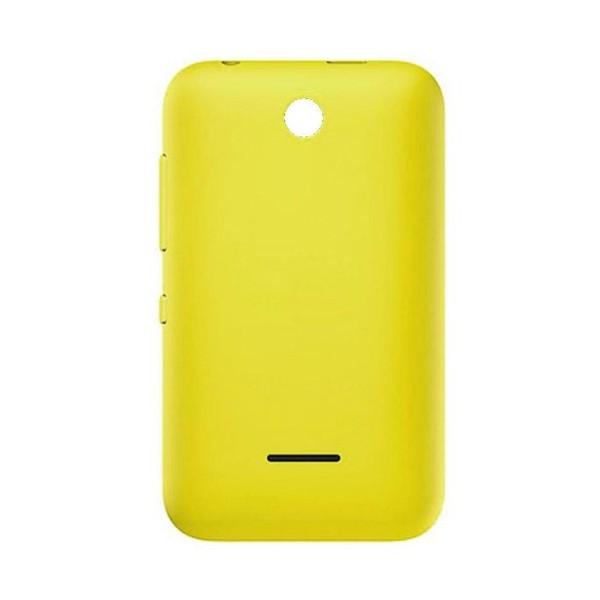 timeless design 3a762 713dd Back Panel Cover for Nokia Asha 230 Dual SIM RM-986 - Yellow