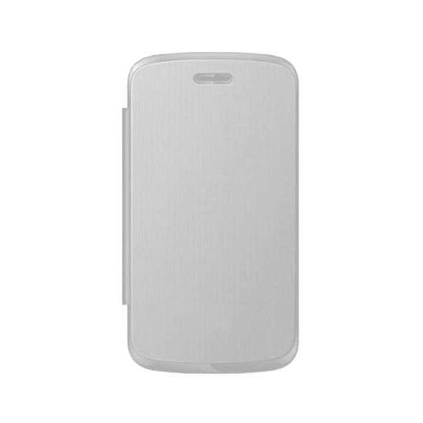 cheap for discount ecbf9 367d2 Flip Cover for HTC Explorer A310E - White