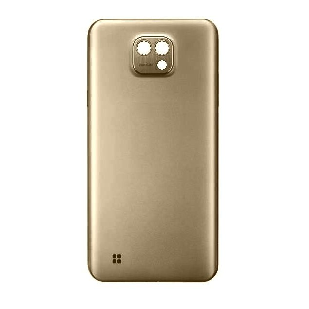 new style e9acc ab322 Back Panel Cover for LG X cam - Gold