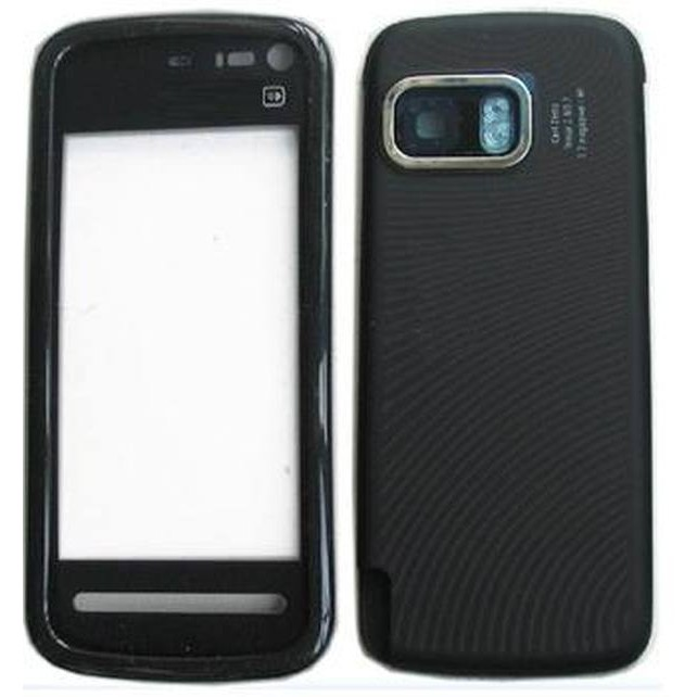 Full Body Housing For Nokia 5802 Xpress Music Red Maxbhicom