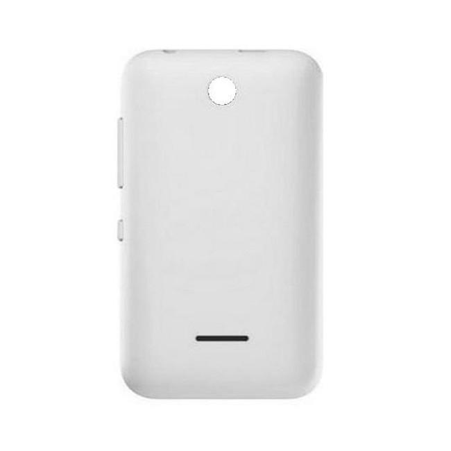 timeless design ee376 ab62f Back Panel Cover for Nokia Asha 230 Dual SIM RM-986 - White