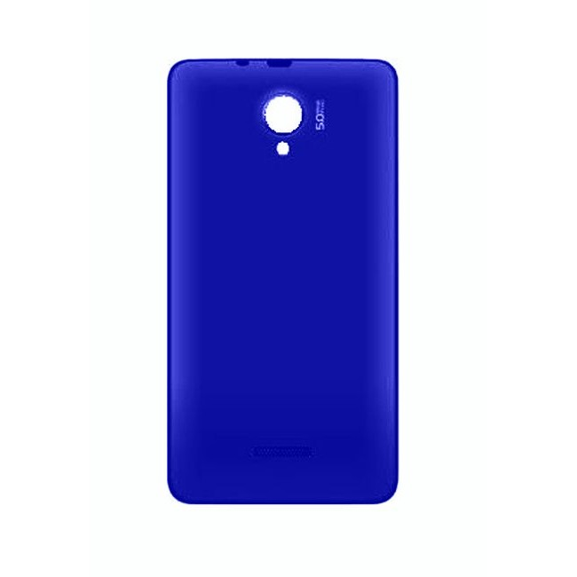 meet 1670e 7dff8 Back Panel Cover for Micromax A76 - Blue