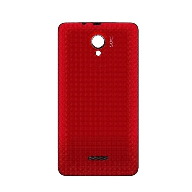 sale retailer 23a64 ff7d0 Back Panel Cover for Micromax A76 - Red