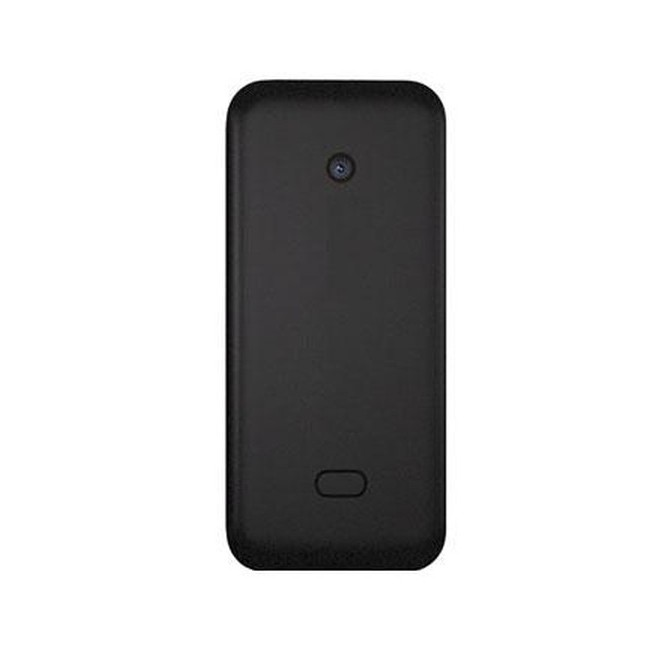finest selection 0c1ef 520f1 Back Panel Cover for Nokia 208 Dual SIM - Black