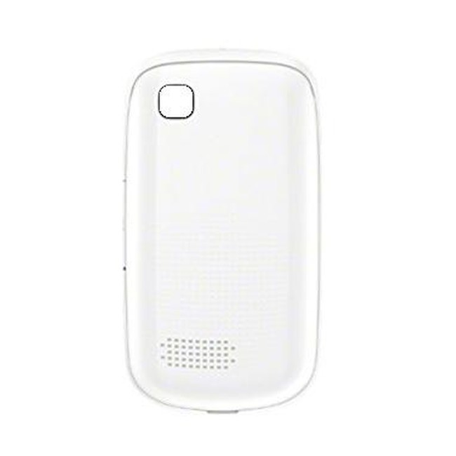 new concept 01190 c1a3c Back Panel Cover for Nokia Asha 201 - White