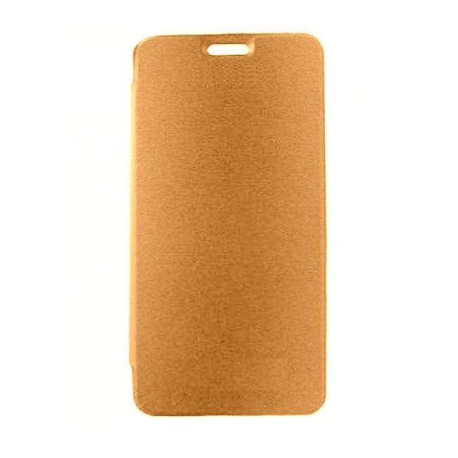 the latest b8de6 4cbe9 Flip Cover for Vivo Y71 - Gold