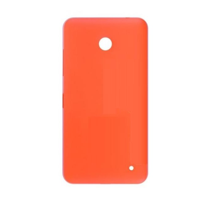 official photos 8abbe c4bd1 Back Panel Cover for Nokia Lumia 630 Dual SIM RM-978 - Orange