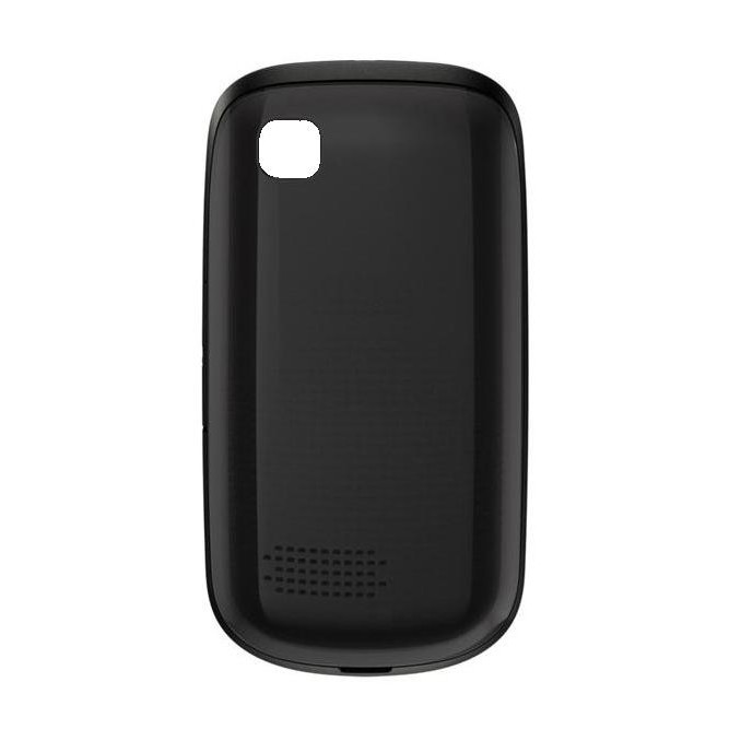the latest d5a5f 404d1 Back Panel Cover for Nokia Asha 201 - Black