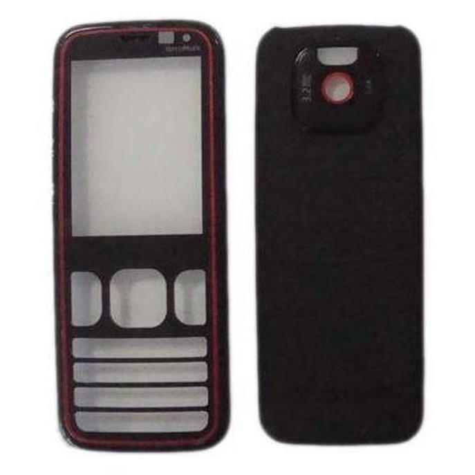 Full Body Housing For Nokia 5630 XpressMusic Red Black