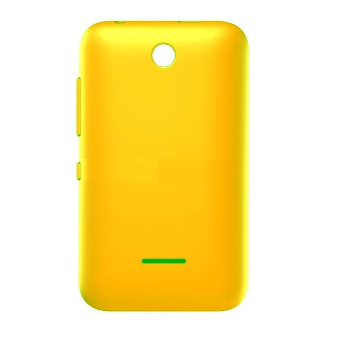 hot sale online e7993 a66b0 Back Panel Cover for Nokia Asha 230 - Yellow