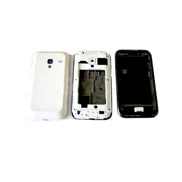 Full Body Housing for Samsung Galaxy Ace Plus S7500 - White