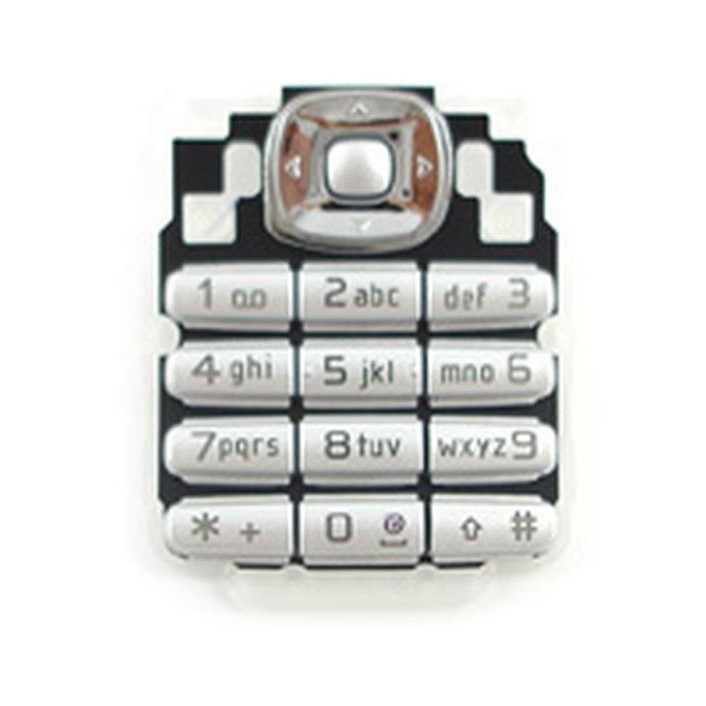 Keypad For Nokia 6030 - Silver