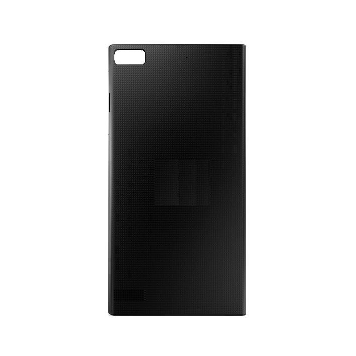 Back Panel Cover For Blackberry Z3 Black - Maxbhi.com