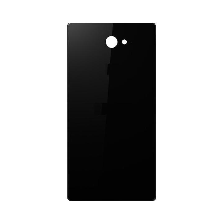 promo code fa522 55ea8 Back Panel Cover for Sony Xperia M2 dual D2302 - Black