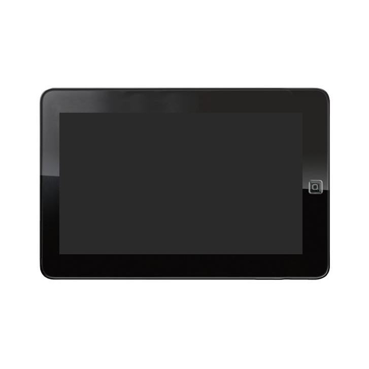 Lcd With Touch Screen For Sylvania 10 Inch Tablet With 3g White By