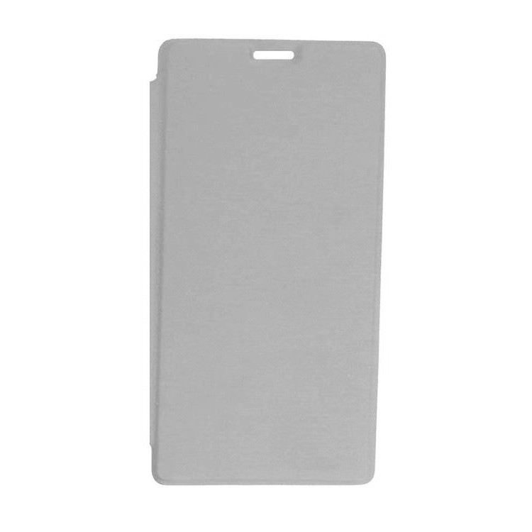 new product 53582 8b231 Flip Cover for Xiaomi Redmi 4 Prime - Silver