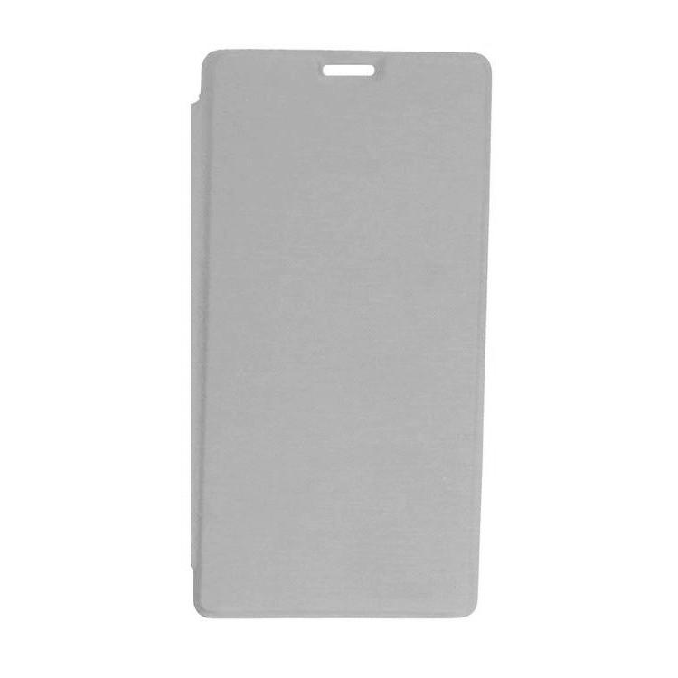 new product bff52 587b0 Flip Cover for Xiaomi Redmi 4 Prime - Silver