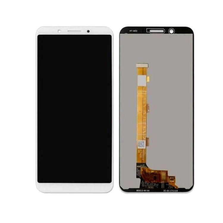 LCD with Touch Screen for Oppo A83 - Champagne (display glass combo folder)