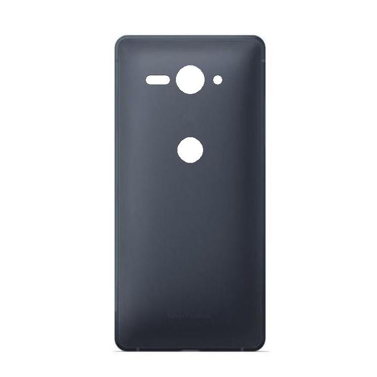new concept 32be0 f1fcd Back Panel Cover for Sony Xperia XZ2 Compact - Black