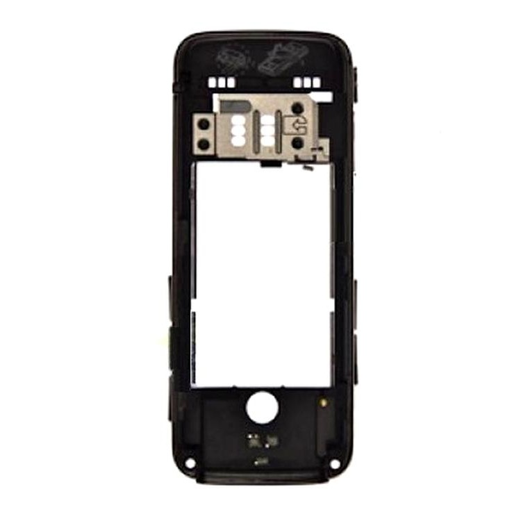 Middle For Nokia 5630 Xpressmusic Black