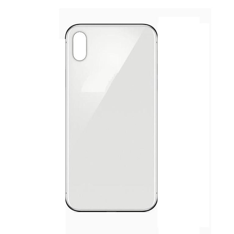 sports shoes e250d 4deed Back Panel Cover for Apple iPhone X Plus - White - Maxbhi.com