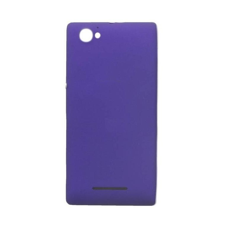 size 40 df49e cce56 Back Panel Cover for Sony Xperia M C1904 - Purple