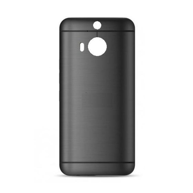 big sale 5e37e 7c22e Back Panel Cover for HTC One M9 Plus Prime Camera Edition - Gunmetal Grey