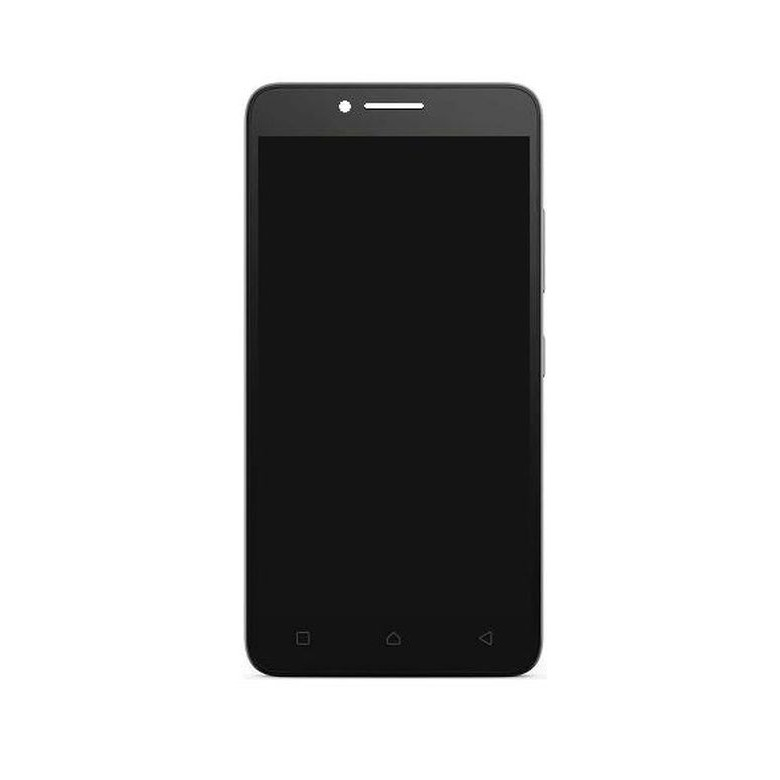 Lcd With Touch Screen For Lenovo A6600 Plus Black By