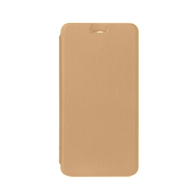 online retailer 84a55 d11e6 Flip Cover for Gionee A1 Lite - Gold