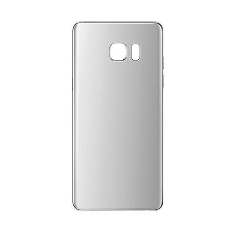 detailed look c0ad4 92f18 Back Panel Cover for Samsung Galaxy Note Fan Edition - Silver