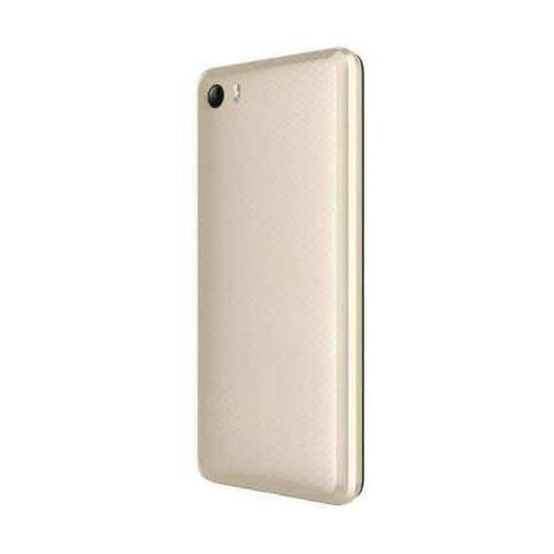 new product 2e500 7af7e Back Panel Cover for Itel Wish A21 - Coffee