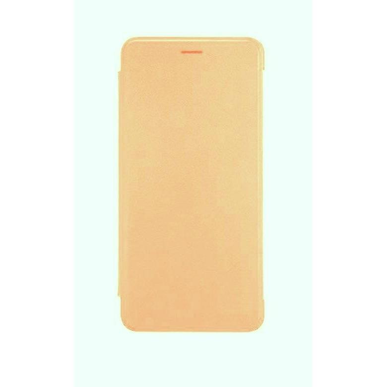 Flip Cover For Huawei P9 Lite Mini Gold