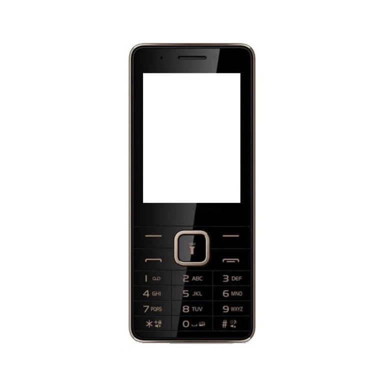 Full Body Housing for Micromax X2420 - Black