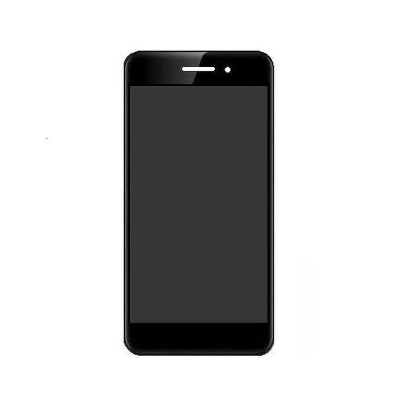 LCD with Touch Screen for Celkon Swift 4G - Black (display glass combo  folder)