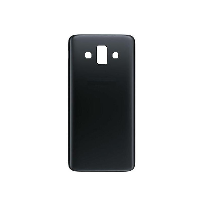 buy popular b48ca 2b198 Back Panel Cover for Samsung Galaxy J7 Duo - Black