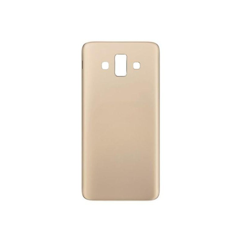 low priced 24dd7 6ad79 Back Panel Cover for Samsung Galaxy J7 Duo - Gold