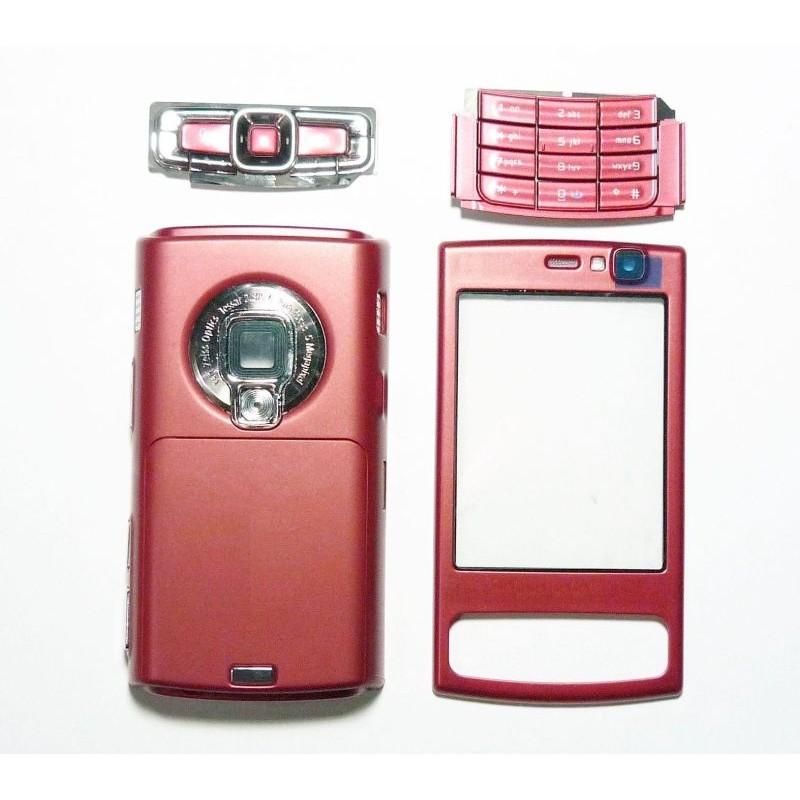 Red Nokia - Housing N95 For 8gb Body Full