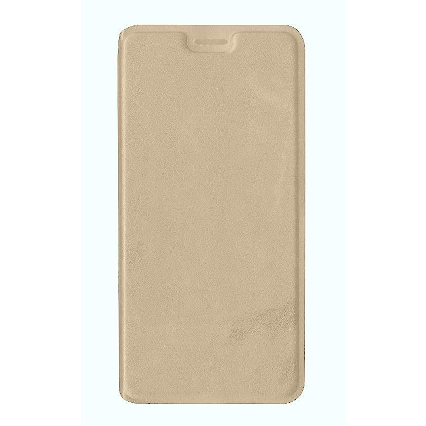 100% authentic c85db fdd3e Flip Cover for Panasonic Eluga A3 Pro - Gold