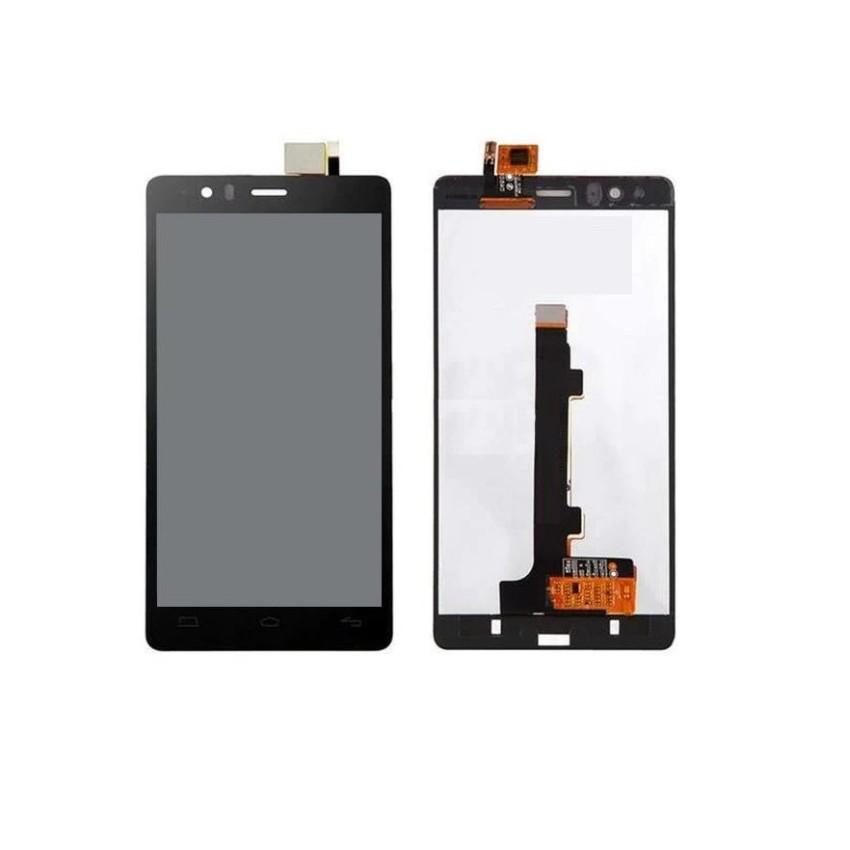 LCD with Touch Screen for BQ Aquaris E5 HD Ubuntu Edition - Black (display  glass combo folder)