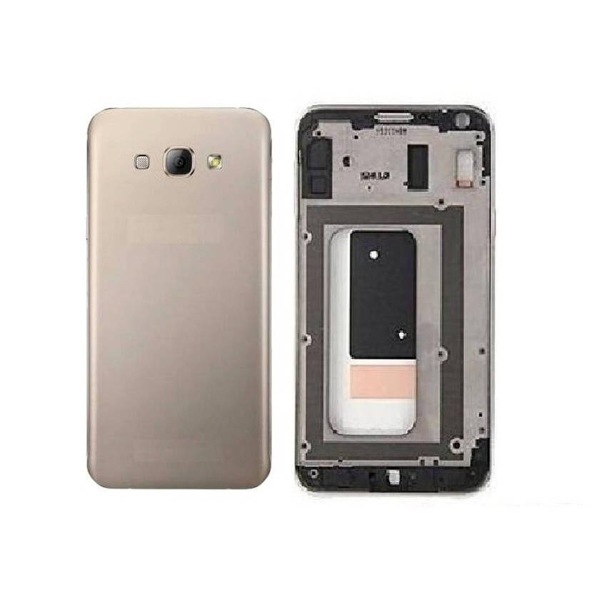 Full Body Housing For Samsung Galaxy A8 Duos Gold
